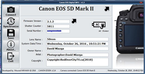 canon eos info v1 2 free download